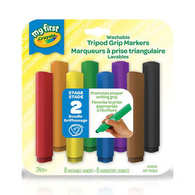 Crayola - My First Crayola Washable Tripod Grip Markers