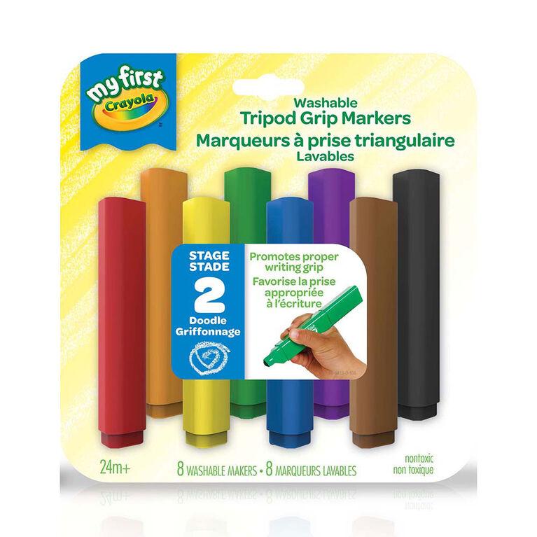 Crayola - My First Crayola Washable Tripod Grip Markers