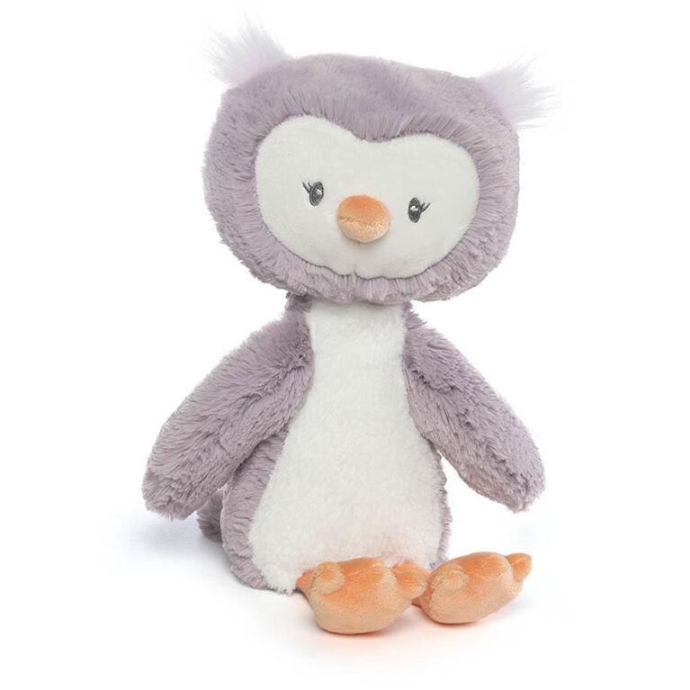 "Baby GUND Baby Toothpick Quinn Owl Plush Stuffed Animal, Purple and Cream, 16"""