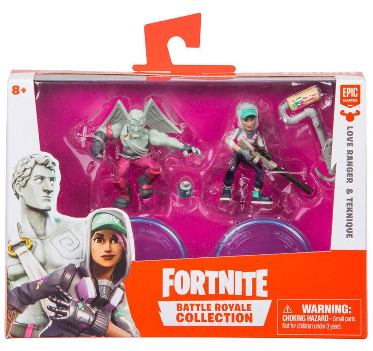 Fortnite Battle Royale Collection: Duo Pack - Love Ranger & Teknique