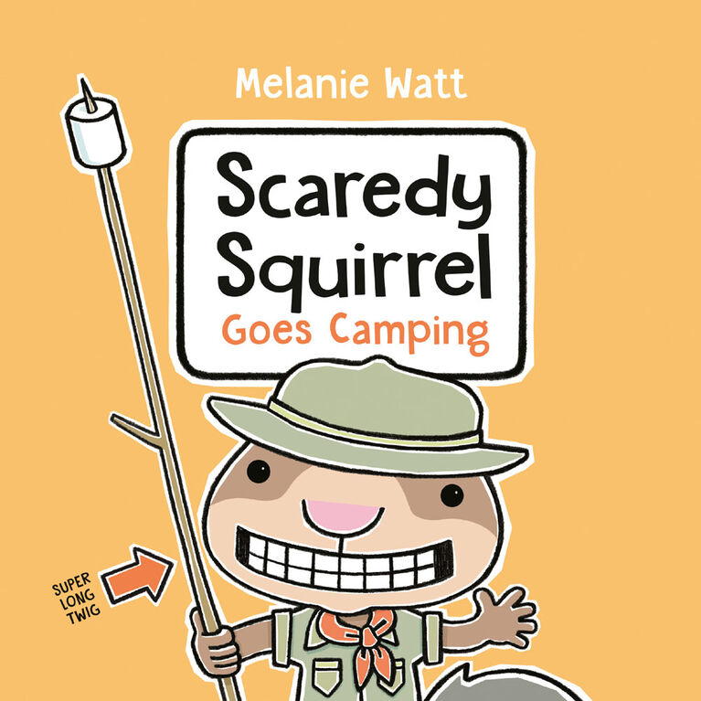 Scaredy Squirrel Goes Camping - English Edition