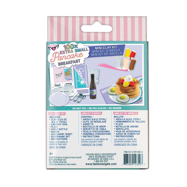 Fashion Angels - 100% Extra Small Pancake Breakfast Mini Clay Kit