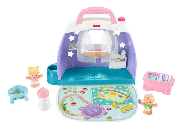 Fisher-Price Little People Babies Cuddle & Play Nursery