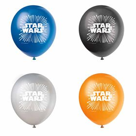 """Star Wars 12"""" Latex Balloons 8 pieces"""