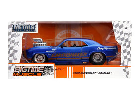 Big Time Muscle 1:24 1969 Chevy Camaro-Show Engine