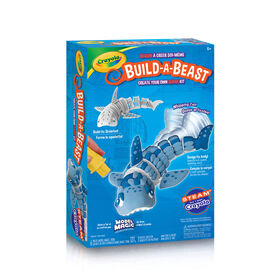 Ensemble Crayola Build-A-Beast Requin