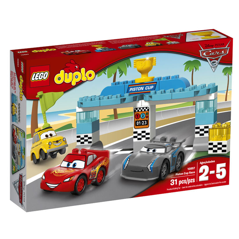 LEGO DUPLO Cars Disney Pixar Piston Cup Race 10857