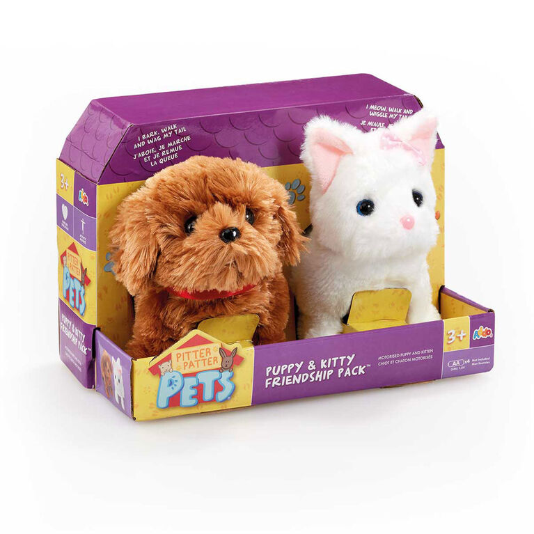 Pitter Patter Pets - Puppy and Kitty Friendship Pack