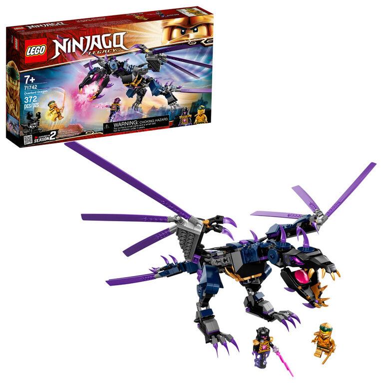 LEGO Ninjago Le dragon d'Overlord 71742