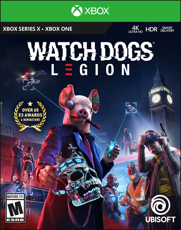 Watch Dogs Legion Bilingual Xbox Series X / Xbox One