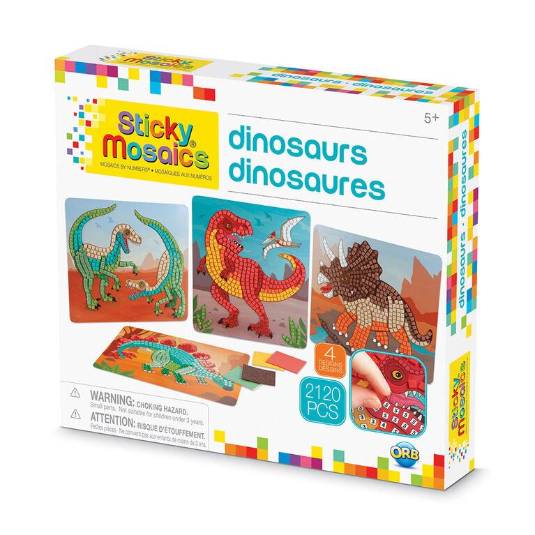 Sticky Mosaics® Dinosaurs