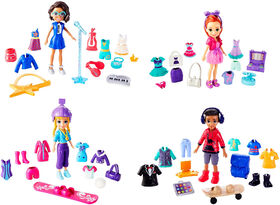 Polly Pocket - Super Coffret - Style Escouade