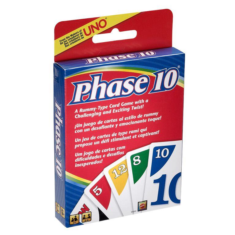 Jeu de cartes Phase 10