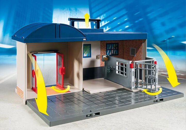 Playmobil - Take Along Police Station - styles may vary