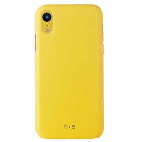 Blu Element Saffiano Case iPhone XR Yellow