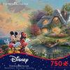Ceaco Thomas Kinkade Disney Dreams - Mickey & Minnie 750 Piece Jigsaw - English Edition