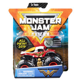 Monster Jam, Official Wonder Woman Monster Truck, Danger Divas Series, 1:64 Scale