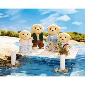 Calico Critters - Yellow Lab Family