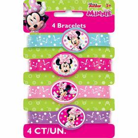 Minnie Stretchy Bracelets, 4 pieces