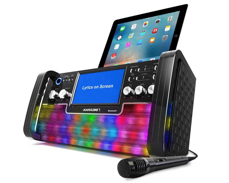 iKARAOKE Bluetooth CD+G Karaoke System - R Exclusive