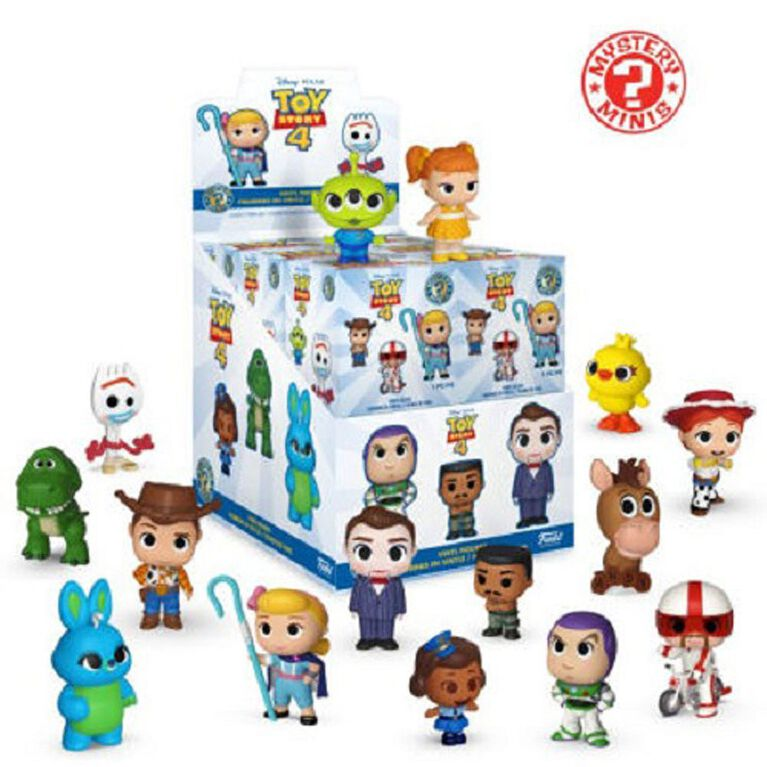 Funko Toy Story 4 Mystery Minis - 12 Random Mystery Characters in One Case