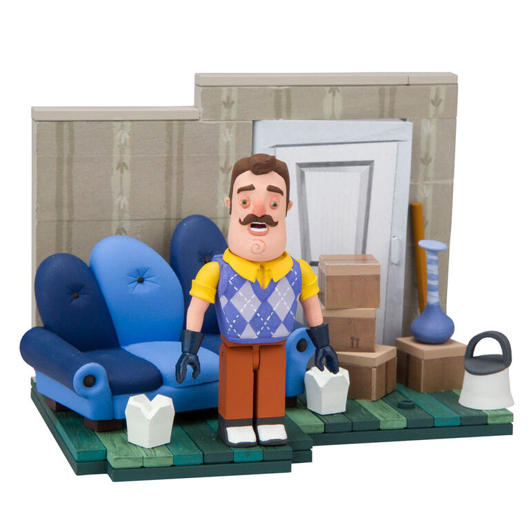 Hello Neighbor Construction Set - The Living Room