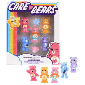 Care Bears - Collectible Figures Multipack - 5 Care Bears in One Pack  - R Exclusive