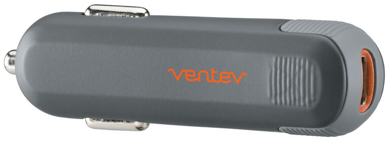 Ventev Car Charger USB C Black (549107)