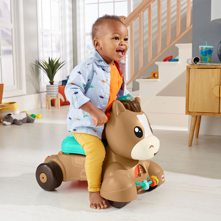 Fisher-Price - Mon Poney 3 en 1