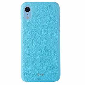 Blu Element Saffiano Case iPhone XR Blue