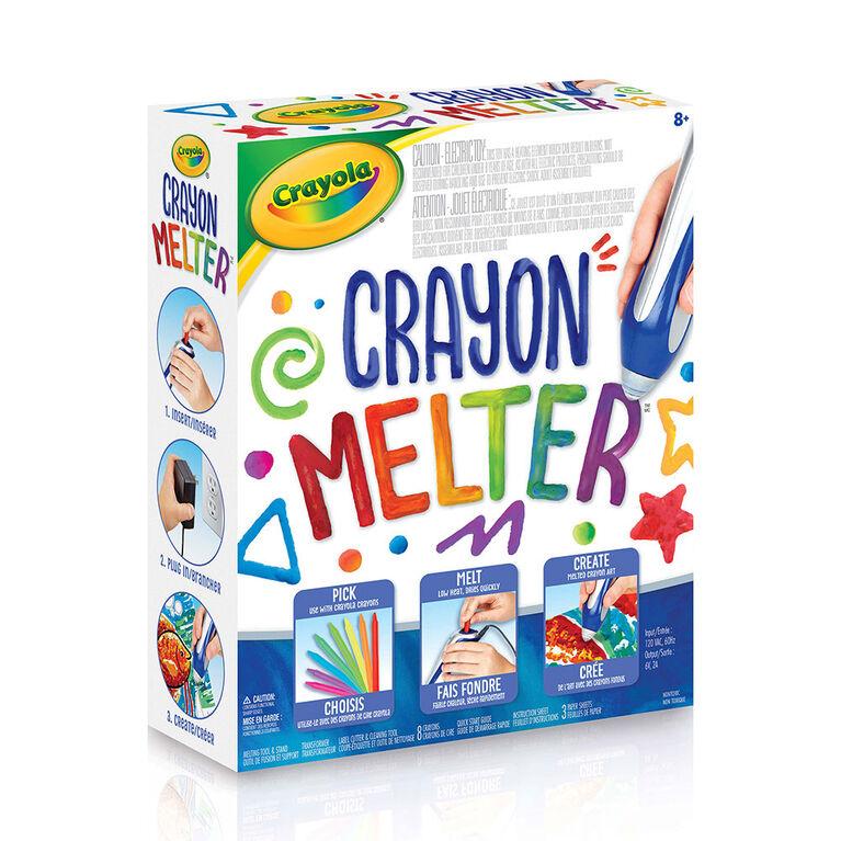 Crayola - Appareil de fusion Crayon Melter