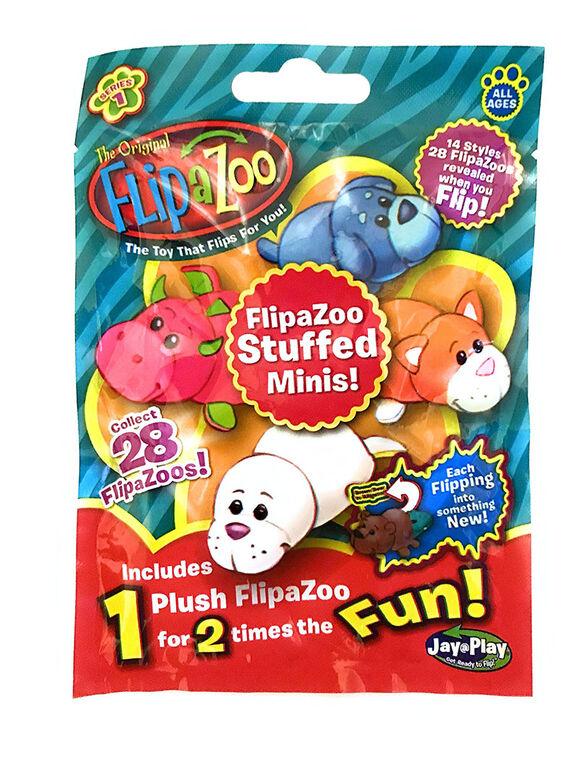 Flip A Zoo Stuffed Minis!