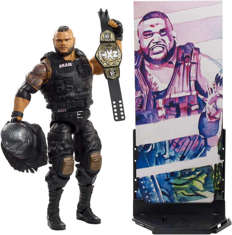WWE Elite Collection Author of Pain Akam Figure
