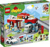 LEGO DUPLO Town Le parc de stationnement et le lave-auto 10948