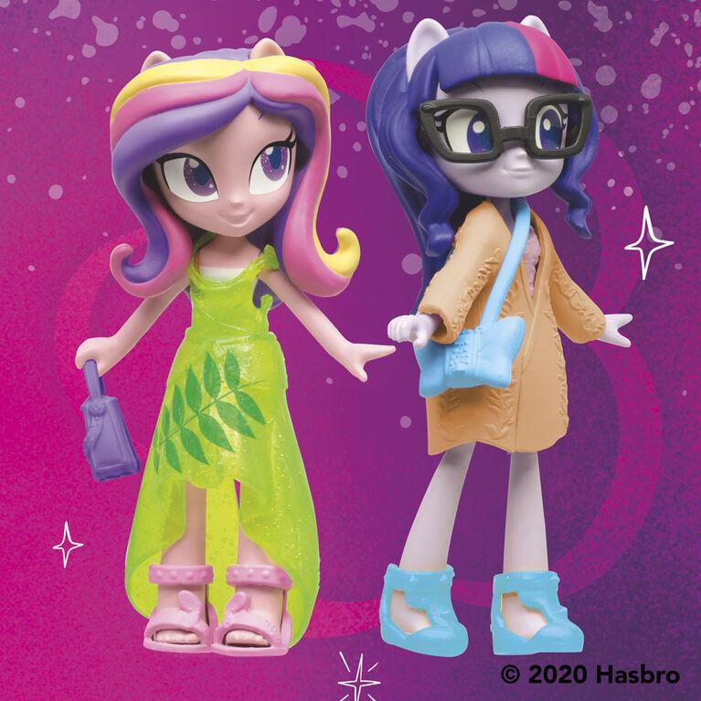 My Little Pony Equestria Girls Fashion Squad Twilight Sparkle and Princess Cadance