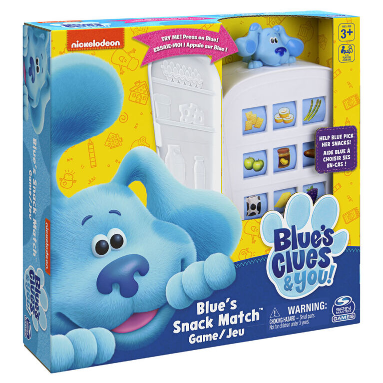 Nickelodeon Blue's Clues Snack Match Game, Matching Board Game