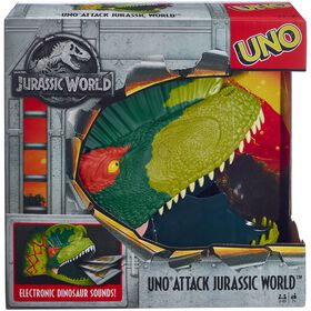 Jeu de Cartes UNO Attack Jurassic World