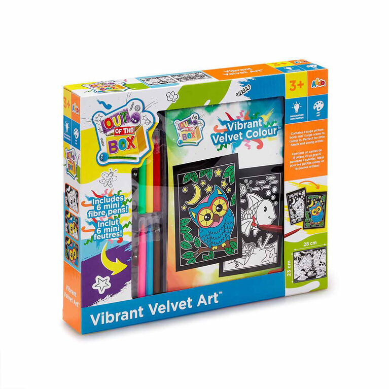 Out of The Box - Coffret Vibrant Velvet Art - Notre exclusivité