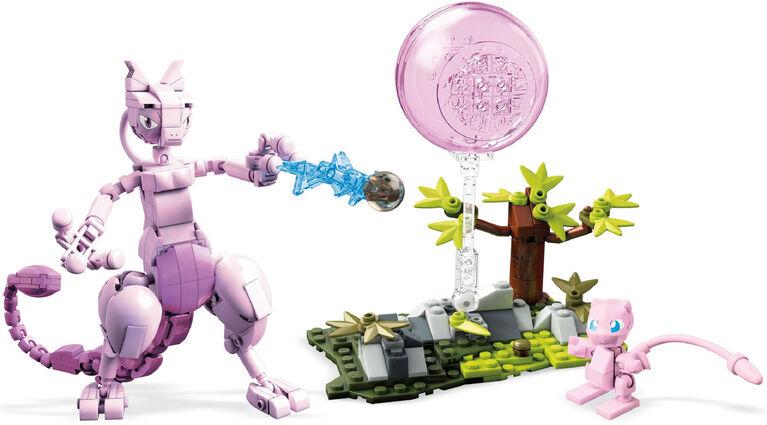 Mega Construx -  Pokémon Mew vs Mewtwo Playset