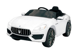 Maserati Ghibli 12V White