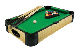 "24"" Wooden Tabletop Billards"