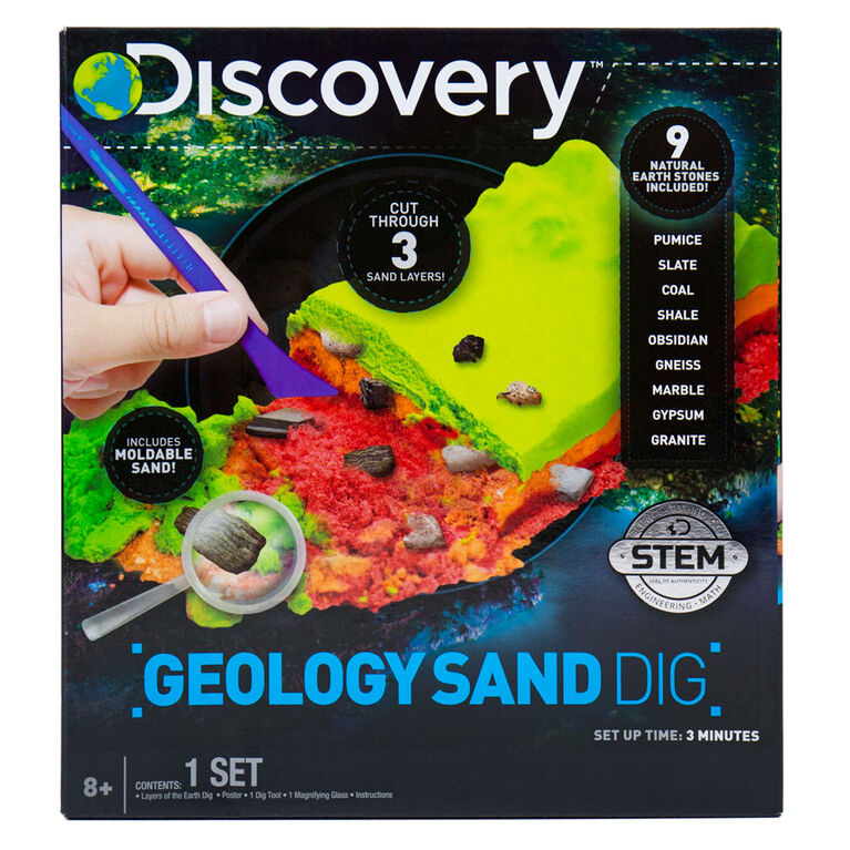 DISCOVERY  Geology Sand Dig