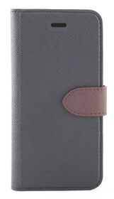Blu Element 2 in 1 Folio Case for iPhone 8/7/6S/6 Black/Brown (B21I7BK)