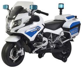 BMW Police Blanc.