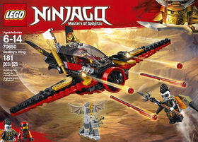 LEGO Ninjago La poursuite dans les airs 70650