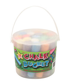 20 Piece Chalk Bucket