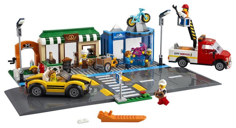 LEGO My City La rue commerçante 60306