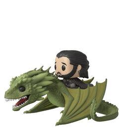 Funko POP! Rides TV: Game of Thrones - Jon Snow with Rhaegal