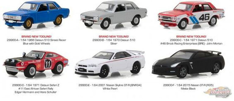 Greenlight 1:64 Tokyo Torque Die-Cast Vehicle - L'assortiment peut varier - une par commande