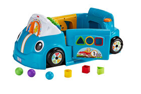 Fisher-Price - Laugh & Learn - Crawl Around Car Blue - English Edition